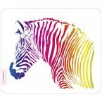 Mousepad Buntes Zebra