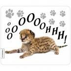 Mousepad Leoparden-Baby