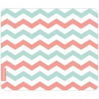 Mousepad Chevron Muster Pastell