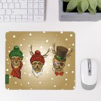 Mousepad Winter-Totenköpfe