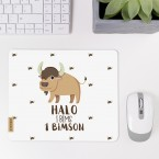 JUNIWORDS Mousepad Halo I Bims 1 Bimson
