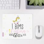 mousepad i bims 1 einhorn