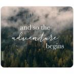 JUNIWORDS Mousepad and so the adventure begins