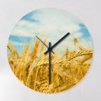 Weizenfeld Uhr