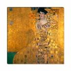 Bildnis der Adele Bloch Bauer von Gustav Klimt als Leinwandbild