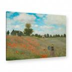 Claude Monet - Mohnfeld bei Argenteuil