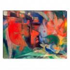 Künstler Franz Marc - abstrakte Formen