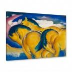 Franz Marc - die kleinen gelben Pferde
