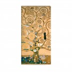 der Lebensbaum von Gustav Klimt als Leinwandbild