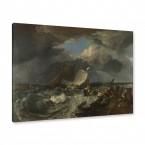 Gemälde - Die Mole von Calais