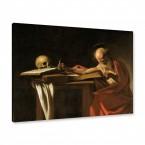 Michelangelo Merisi da Caraggio - Der heilige Hieronymus schreibend