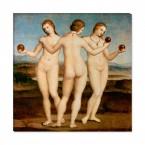 die drei Grazien als Leinwandbild zum aufhängen