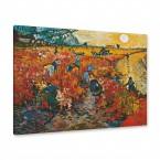 Gemälde - der rote Weingarten in Arles