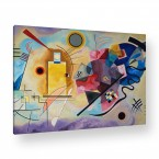 gelb rot blau von Wassily Kandinsky