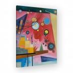 schweres Rot von Wassily Kandinsky