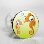 Stöpselaufkleber süße Unterwasser-Tiere