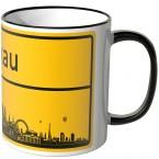 JUNIWORDS Tasse Ortsschild Skyline Moskau