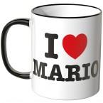 JUNIWORDS Tasse I LOVE MARIO