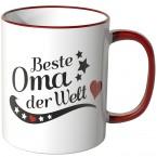 JUNIWORDS Tasse Beste Oma der Welt