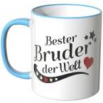 JUNIWORDS Tasse Bester Bruder der Welt