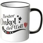 JUNIWORDS Tasse Bester Onkel der Welt