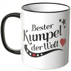 JUNIWORDS Tasse Bester Kumpel der Welt