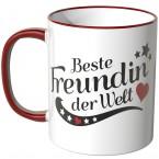 JUNIWORDS Tasse Beste Freundin der Welt