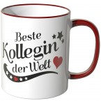 JUNIWORDS Tasse Beste Kollegin der Welt