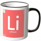 "JUNIWORDS Tasse Element Lithium ""Li"""