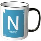 Element Stickstoff Tasse