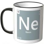 Neon Element Tasse