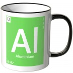 "JUNIWORDS Tasse Element Aluminium ""Ai"""