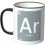 "JUNIWORDS Tasse Element Argon ""Ar"""