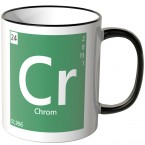 "JUNIWORDS Tasse Element Chrom ""Cr"""