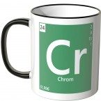 """JUNIWORDS Tasse Element Chrom """"Cr"""""""