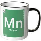 "JUNIWORDS Tasse Element Mangan ""Mn"""