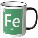 "JUNIWORDS Tasse Element Eisen ""Fe"""