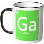 """JUNIWORDS Tasse Element Gallium """"Ga"""""""
