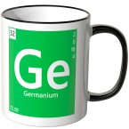 "JUNIWORDS Tasse Element Germanium ""Ge"""
