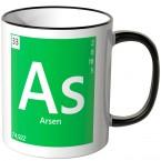 "JUNIWORDS Tasse Element Arsen ""As"""