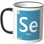 "JUNIWORDS Tasse Element Selen ""Se"""