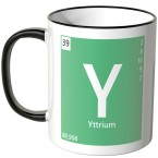 yttrium element tasse