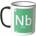 Tasse Element Niob