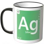 Tasse Element Silber