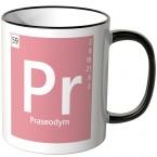 """JUNIWORDS Tasse Element Praseodym """"Pr"""""""
