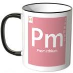 """JUNIWORDS Tasse Element Promethium """"Pm"""""""
