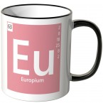 "JUNIWORDS Tasse Element Europium ""Eu"""