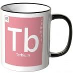 """JUNIWORDS Tasse Element Terbium """"Tb"""""""