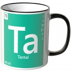 "JUNIWORDS Tasse Element Tantal ""Ta"""