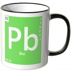 "JUNIWORDS Tasse Element Blei ""Pb"""